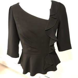 Beautiful WHBM Dressy Blouse - size 2